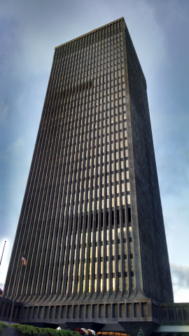 Xerox building in downtown Rochester, NY